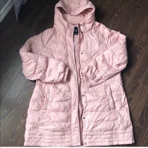Pale Pink Feather Down Jacket from Pennington's